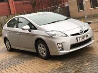 2010 TOYOTA PRIUS 1.8 VVTI T3 HYBRID ELECTRIC PETROL AUTOMATIC SILVER CAN USE UBER N INSIGNIA MONDEO