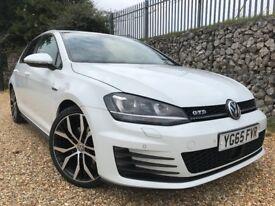Volkswagen Golf 2.0 TDI BlueMotion Tech GTD Hatchback DSG 5dr £0 DEPOSIT FINANCE AVAILABLE.