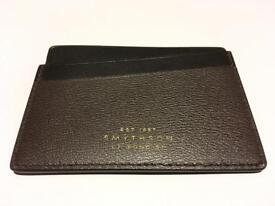 SMYTHSON GROSVENOR CARD CASE WALLET HOLDER