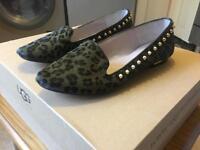 Brand New Zara women leather shoes (size 5)