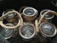 Beautiful gold jars
