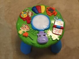 Leap frog activity table. Collection only.