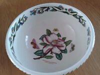 Large Portmerion china bowl Botanical garden design