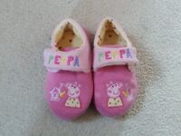 Props pig slippers and dressing gown