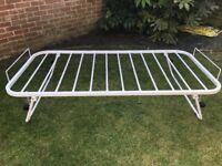 Single truckle bed frame