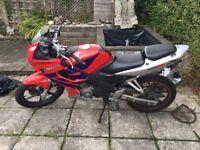 Honda CBR r125 FOR SALE!!!!!
