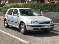 VW Golf Match. 2004. One owner. Silver