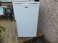 Fridgemaster undercounter or free standing Freezer, white good condition 500x500x850