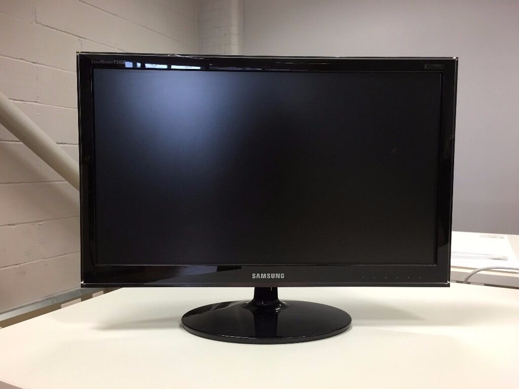how to change the screen samsung 24 monitor