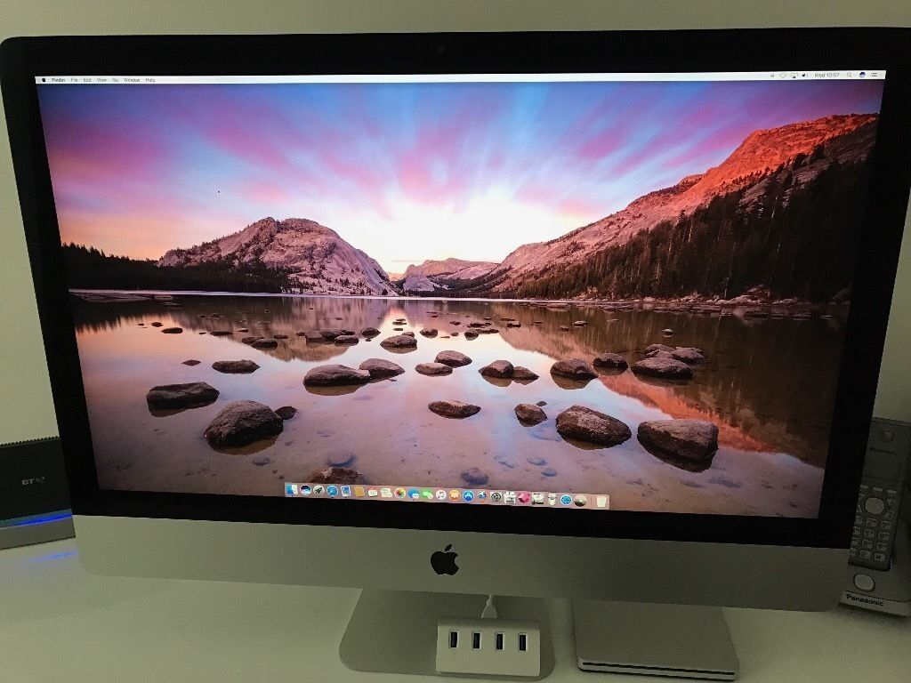 "Apple iMac(Retina 5K, 27 inch, Late 2015in Lutterworth, LeicestershireGumtree - Apple iMac(Retina 5K, 27 inch, Late 2015/Latest, 3.2 GHz Intel Core i5, 8GB RAM iMAC 27"" bought in late November 15 bought from Apple shop . System /casing are in brilliant condition no marks and packed in original Apple Boxes. Almost new iMac..."