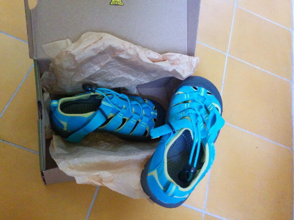 promo code 9df94 4f3ce Brand new Keen Newport H2 kids sandals in box, light blue-green, size: UK  junior 13, EU 32/33 | in Edinburgh City Centre, Edinburgh | Gumtree