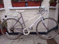 Vintage Raleigh mixte frame racer bike