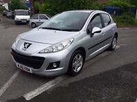 2010 PEUGEOT 207 1.4 8v VERVE NEW CLUTCH EXCELLENT THROUGHOUT PART EXCHANGE WELCOME