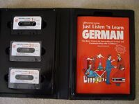 Listen and Learn German book