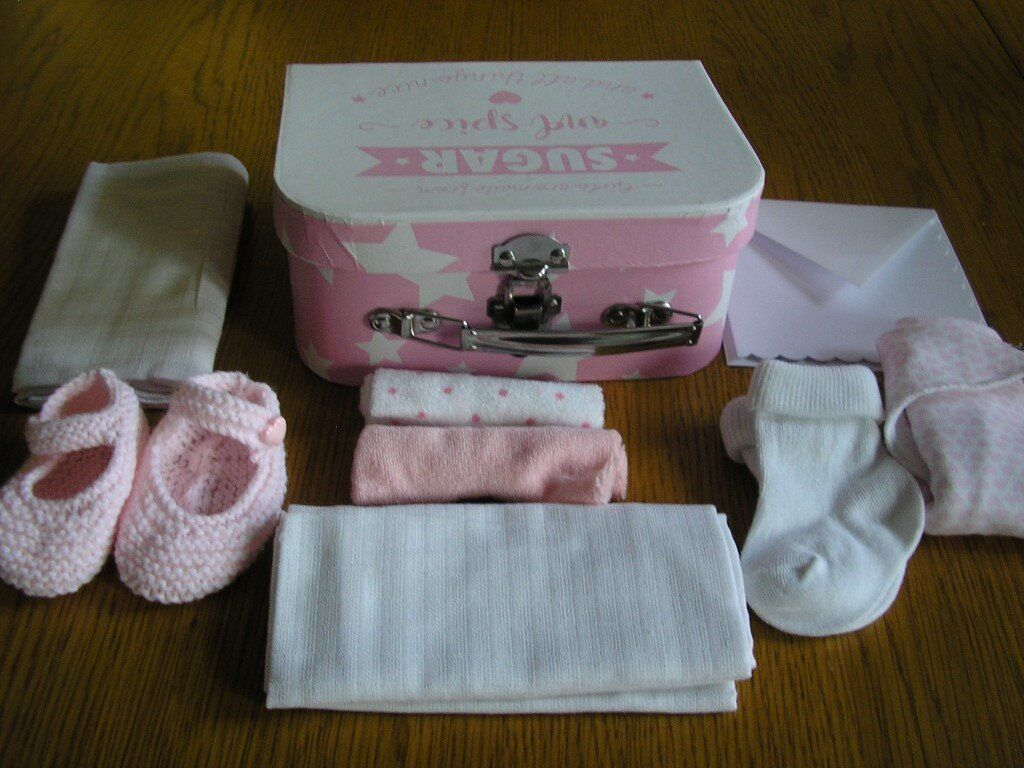 Gift boxes for new baby girl