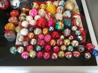 Christmas Mixed Baubles & String Beads x 2