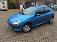 2001 PEUGEOT 206 1.9L DIESEL ONLY 80,000 GENUINE MILES WITH LONG MOT IN GOOD CONDITION