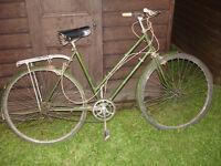 Vintage Hercules Balmoral bike