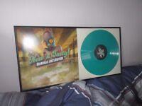 Michael Bross - Oddworld: New n Tasty-Official (GREEN VINYL) - LP FRAMED