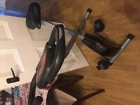 Barely used 9 months old Home bike trainer with pulse sensor Victporia Road