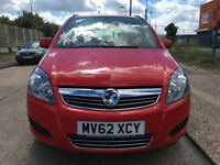 2010 VAUXHALL ZAFIRA 1.6 7 SEATER JUST 20K LOW MIES/vw touran/toyota previa/ford galaxy/vw sharan
