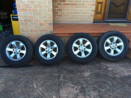 Toyota Prado Wheels & Tyres In Great Condition