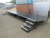 Burgess Mobile/Portable Adjustable Staging