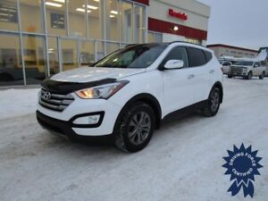 2016 Hyundai Santa Fe Sport Luxury AWD Heated Lthr Seats, S/Roof