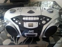 JVC Portable Music System (CD, Radio + Cassette)