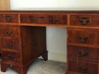 Reproduction Pedestall Office Desk