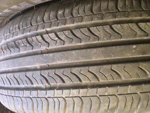 4 pneus 185/55r15 jinyu comme neufs