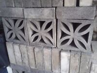 For sale. Concrete blocks.