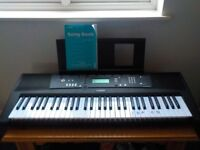 Yamaha Digital Keyboard - One Year Old