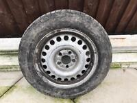 Transit Connect Wheel An tyre