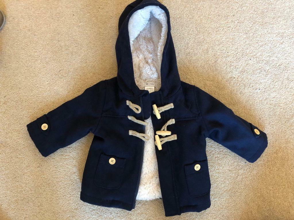 5966ad3b3 Boys La Redoute duffle coat-size 6 months
