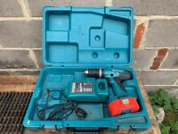 Makita, 18 volt Drill and Charger, Fully Working.