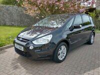 Ford, S-MAX, MPV, 2012, Manual, 1560 (cc), 5 doors, 7 seats, 54000 miles