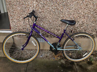 girls or ladies bike