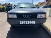 Audi 80 1.8 E manual BREAKING