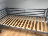 Silver Ikea Single Day Bed