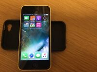 For sale iPhone 5c 8gb yellow unlocked to all networks £110, cash only no PayPal scams please