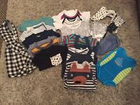 Baby boy's 3-6 months clothes bundle