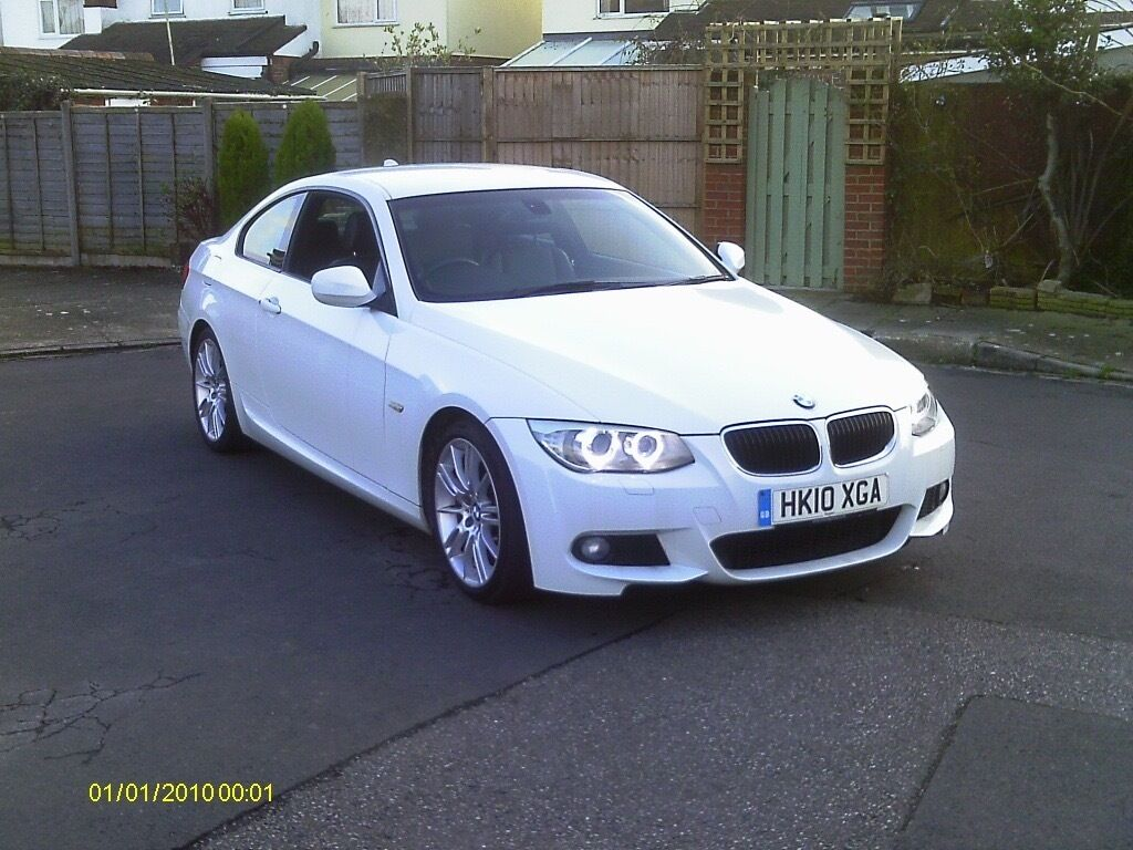 bmw 320i m sport coupe 2010 low mileage with full bmw service history superb car in. Black Bedroom Furniture Sets. Home Design Ideas