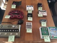 Range of High Quality Guitar Pedals!