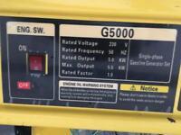 Munro G5000 petrol generator