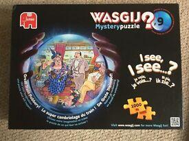 Various 1000 piece jigsaws