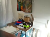 Bright & airy small studio space in our Arts Collective, would suit artists needing a lot of light.