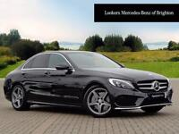 Mercedes-Benz C Class C250 D AMG LINE PREMIUM PLUS (black) 2016-09-16
