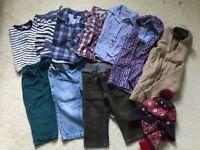 9-12 months baby boy bundle clothes