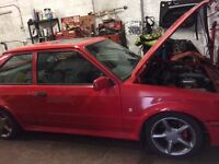 FORD ESCORT MK4 RS TURBO not xr3i cosworth